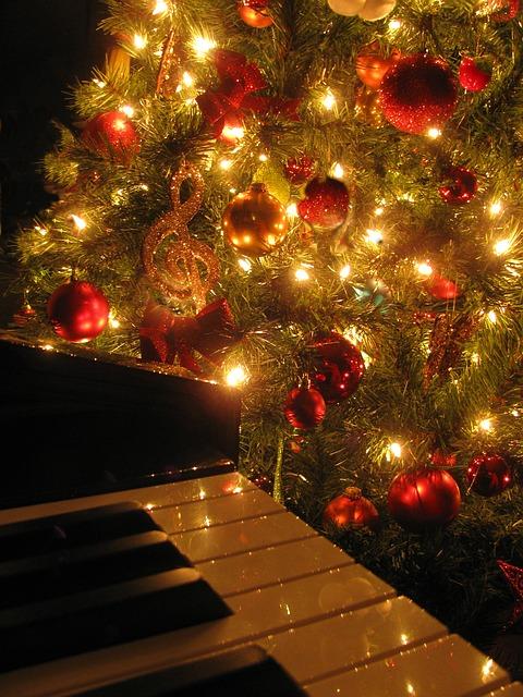 Christmas, Piano